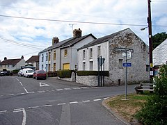 Cross-roads at Pennant - geograph.org.uk - 210002.jpg