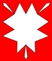 Csalánlevél (heraldika) fr -- feuille d'ortie.PNG