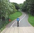 Cycleway heading east - geograph.org.uk - 904590.jpg