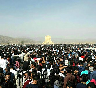 Cyrus the Great Day - Pasargadae on 28 October 2016