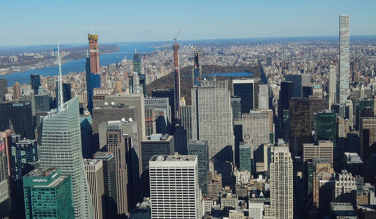 List Of Tallest Buildings In New York City Wikipedia