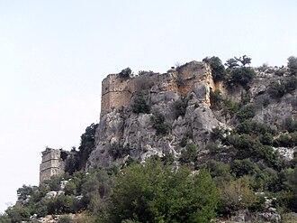 Erdemli - Image: Dağlı Castle, Mersin Province