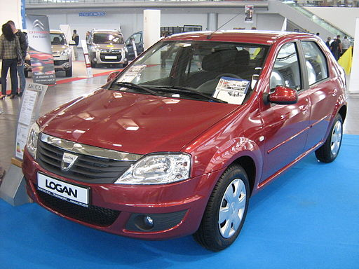 Dacia Logan Facelift front - PSM 2009