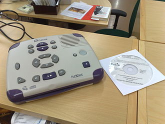 DAISY Digital Talking Book - A DAISY player and audio book.