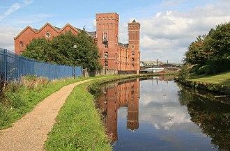 Civil parishes in Lancashire - Image: Daisyfield cornmill, Blackburn geograph.org.uk 963066