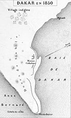 Dakaro en 1850