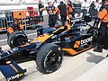 Danica Patrick Car 2009 Indy 500 Pole Day.JPG