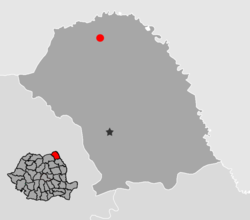 Vị trí của Darabani