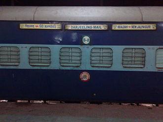 Darjeeling Mail - Image: Darjeeling Mail Sleeper Class