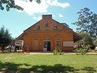 Livingstonia, Malawi - Main building of the David Gordon Memorial Hospital in 2011