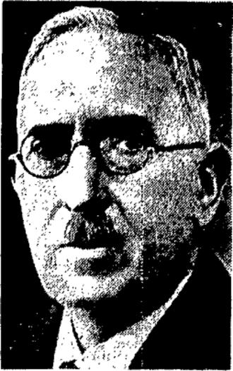 David Spence (Canadian politician) - David Spence circa 1935.