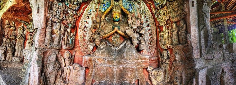 Dazu Shike Rock Carvings Chongqing People%27s Republic of China David McBride Photography-0362 03