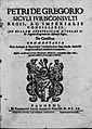 De Gregorio, Pietro – Ad bullam apostolicam Nicolai V et regiam pragmaticam Alphonsi regis De censibus commentaria, 1609 – BEIC 13710021.jpg