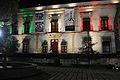De noche fuera del Museo Nacional de la Estampa.JPG