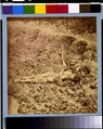 Dead Confederate soldier, in trenches of Fort Mahone in front of Petersburg, Va., April 3, 1865 LCCN92504596.tif