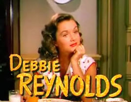 Reynolds in I Love Melvin (1953)