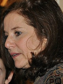 Debra Winger and son at Obama inauguration.jpg