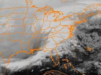 December 21–24, 2004 North American winter storm - Image: December 23, 2004 0600 UTC snowstorm EC