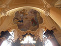 Deckengemälde der allerheiligsten Dreifaltigkeit in Kathedrale der Mariä Himmelfahrt und Saint Johannes des Täufers.jpg