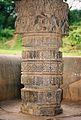 Decorative half pillar at Nagareshvara temple in Bankapura 1.JPG