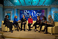 Defense.gov News Photo 101124-N-0696M-069 - Chairman of the Joint Chiefs of Staff Adm. Mike Mullen U.S. Navy and his wife Deborah are interviewed on The View in New York City on Nov. 24.jpg