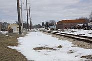 Delavan Wisconsin Railroad Sign