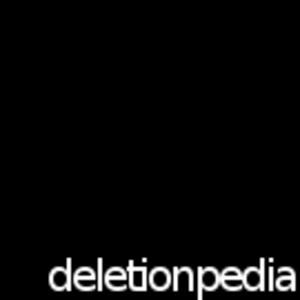 Deletionpedia - The logo of the original Deletionpedia.