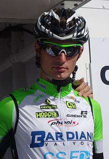 Enrico Battaglin Italian road racing cyclist