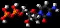 Deoxycytidine diphosphate 3D ball.png