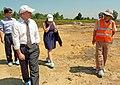 Deputy Administrator Donald Steinberg visits Danang Airport (7163663722).jpg