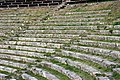Detail - Bleachers - Ancient Roman Theatre - Taormina - Italy 2015.JPG