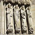 Detail of the west facade of Notre-Dame, Paris 13 April 2015.jpg