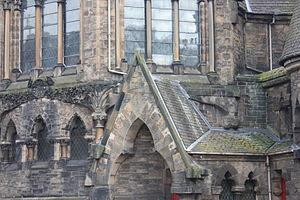 Frederick Thomas Pilkington - The flamboyant detailing of Pilkington on the Bruntsfield Barclay Church