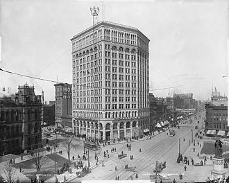 Majestic Building (Detroit) - Majestic Building, c. 1896–1899