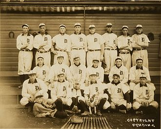 1907 Detroit Tigers season - Image: Detroit Tigers, Champions of the American League in 1907