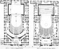 Deutsches Schauspielhaus Erster und Zweiter Stock (1901) Zentralblatt Abbildung 3 und 4.png