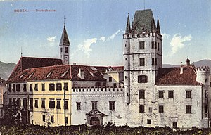 An der Etsch - Commandry (Deutschhaus) Bolzano