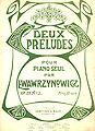 Deux Preludes by L Wawrzyniak.jpg