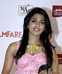 Dhansika at 61st Flimfare Awards (cropped).jpg