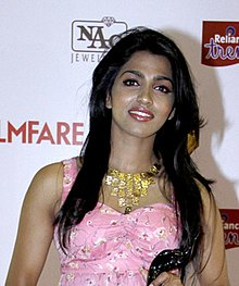 Dhansika at 61st Flimfare Awards (cropped).jpg