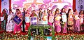 Dharmendra Pradhan at the distribution of the allotment letters to BPL women beneficiaries of various Social Security schemes, during Rashtriya Gram Swaraj Abhiyan, in Haripur village of Mayurbhan district of Odisha.JPG