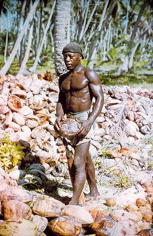 Depopulation of Chagossians from the Chagos Archipelago - A Chagossian man, 1971