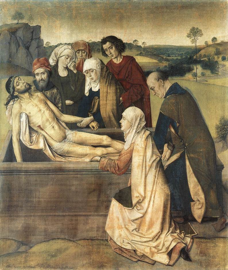 Dieric Bouts - The Entombment - WGA02961