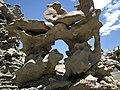 Differentially cemented & eroded sandstone (member C, Uinta Formation, Eocene; Fantasy Canyon, Utah, USA) 32 (24217649353).jpg