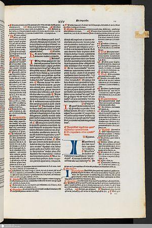 Accursius - Image: Digesta Justiniani Infortiatum 1997304