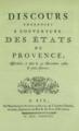 Discours prononcés à l'ouverture des États de Provence, 31 décembre 1787.png