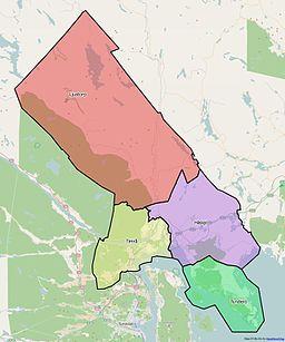 timrå kommun karta