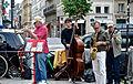 Dixieland Jazz on Saint Germain des Pres, Paris 25 May 2014.jpg