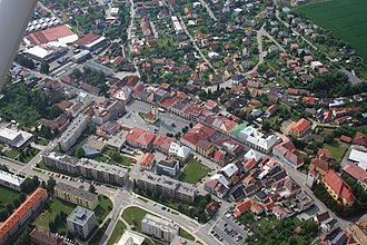 Dobruška - Image: Dobruška from air 4