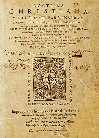 San Mateo, Rizal -  Doctrina Christiana